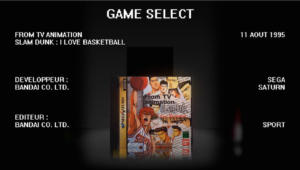 La Bande Animée - Anime Games - 23 - Slam Dunk : I love basketball - Sega Saturn