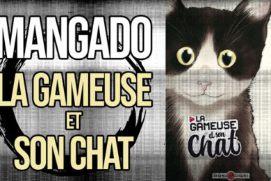 La Bande Animée - Mangado - 481 - La Gameuse et son chat